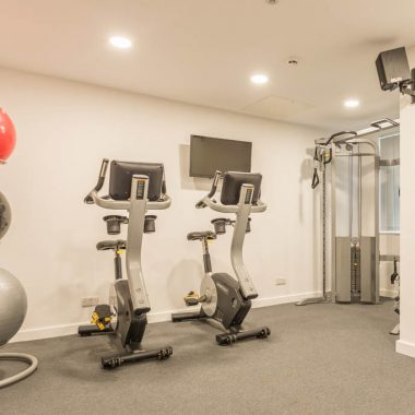 Canterbury Hall gym facilities