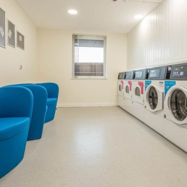 Canterbury Hall laundry facilities