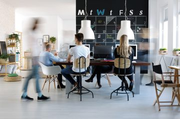 Demand for new office buildings falls as flexible working reduces need for office space